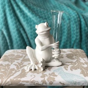 Other - Little froggie bud vase